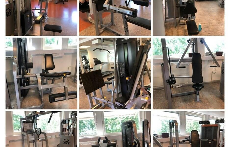 Komplett mindre Gym från Cybex